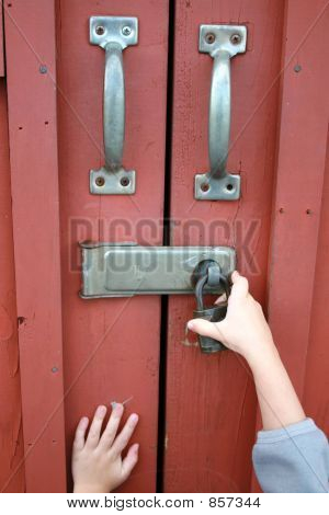Locked doors