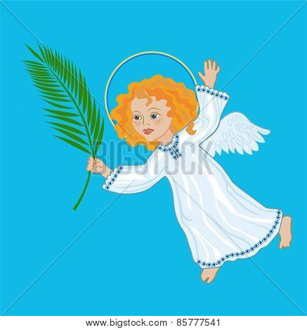 Angel With A Palm Branch