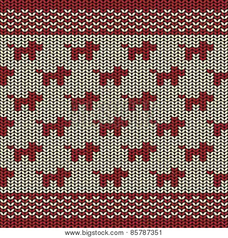 Fabric line background pattern with silhouette of dog