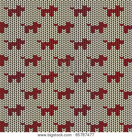 Fabric seamless background pattern with silhouette of dog