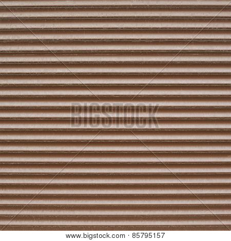 Shopwindow venetian brown plastic blinds