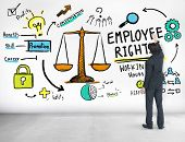 Employee Rights Employment Equality Job Businessman Ideas Concept poster