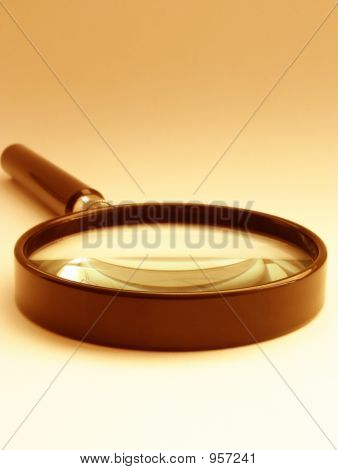 Magnifying Glass  Sephia