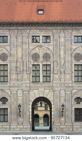 Emperor's Courtyard at the Wittelsbach Residence in Munich poster