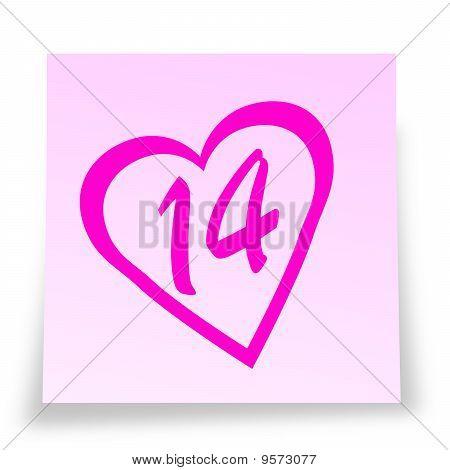14th in heart