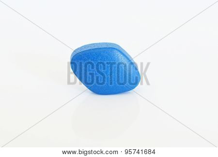 Blue pill for erectile dysfunction treatment