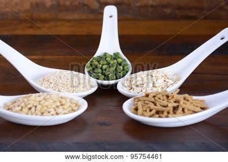 Healthy High Fiber Prebiotic Grains