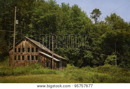 Abandoned Mountain Home