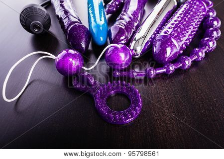 Collection Of Sex Toys