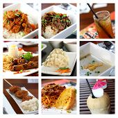 Image of Fusion Food & Beverages Collage poster