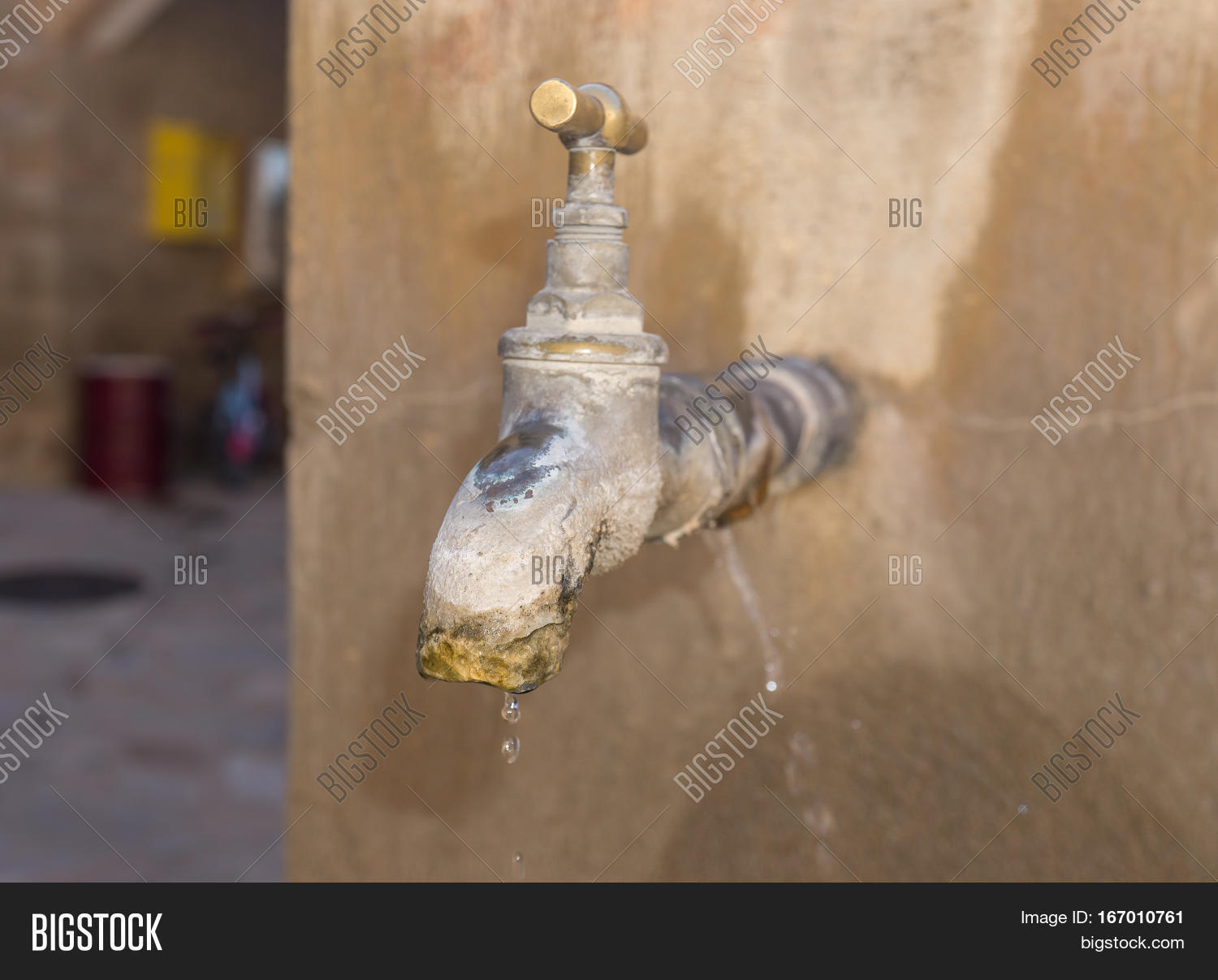Old Faucet Lime Image & Photo (Free Trial) | Bigstock