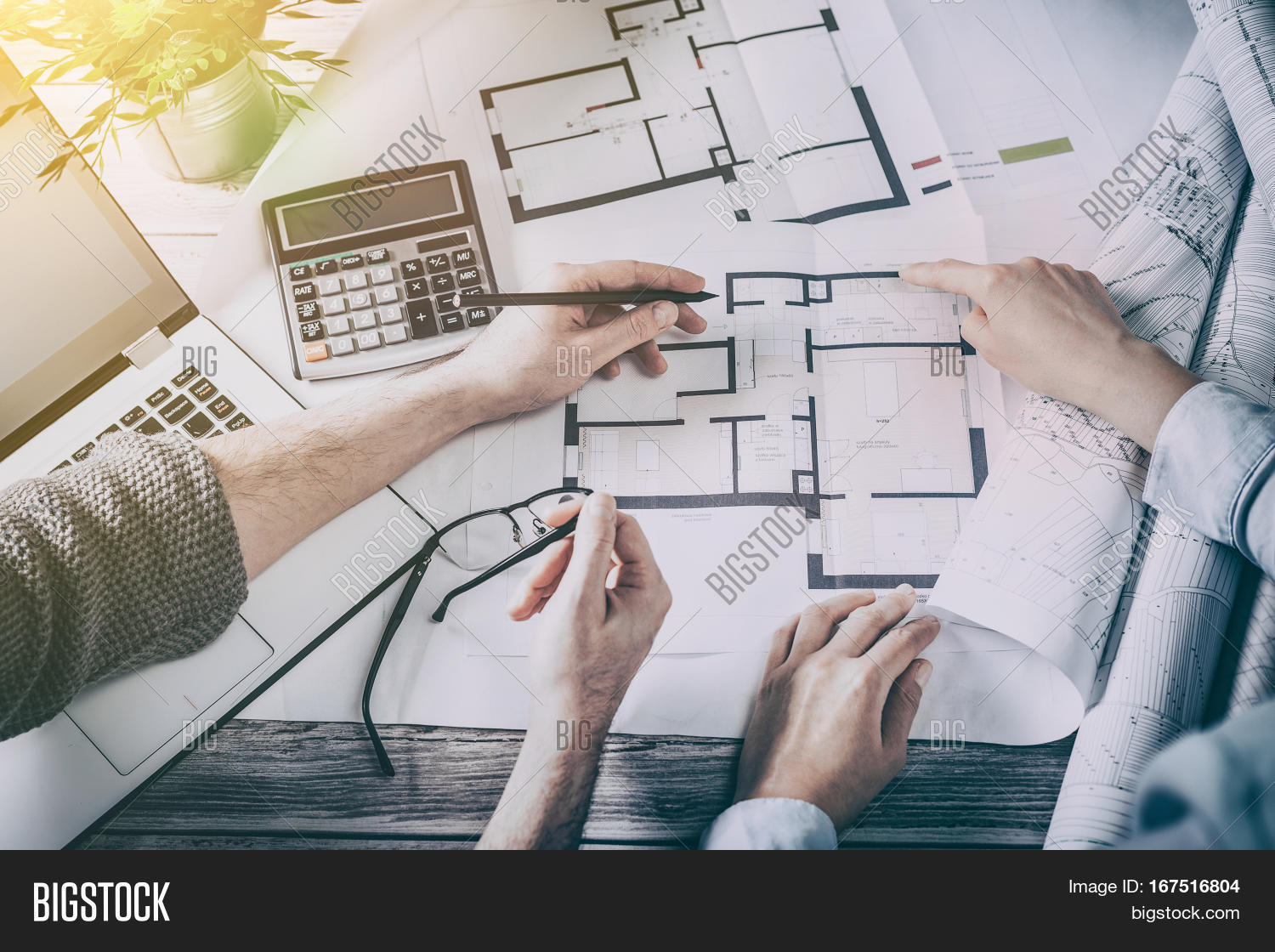 Architects Architect Project Image Photo Bigstock