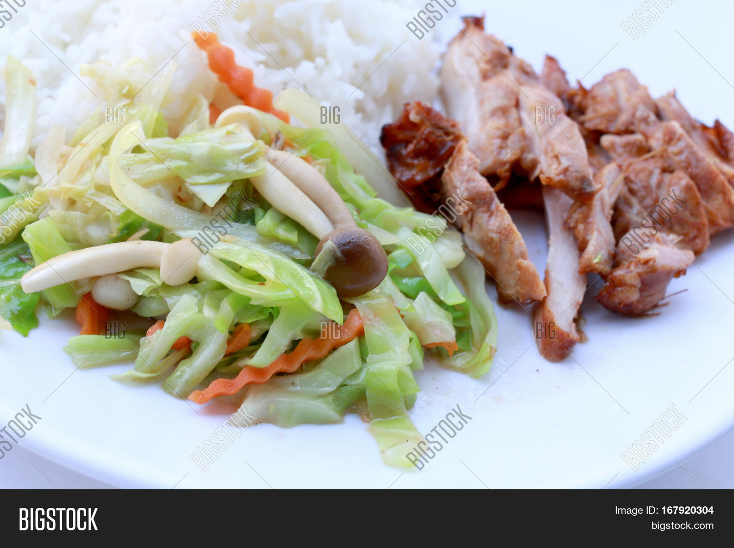 Stir Fried Vegetables Image Photo Free Trial Bigstock