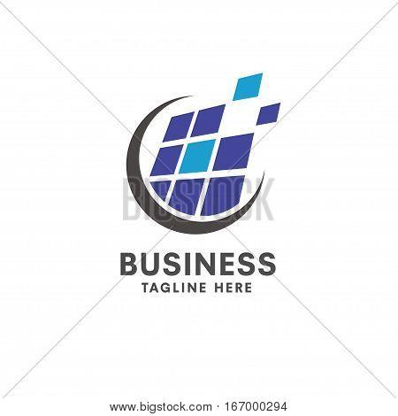 Solar logo concept, Solar energy vector template. Vector solar panel sign.