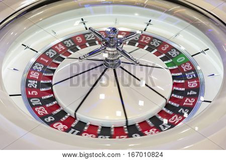 Roulette Table In Casino Modern
