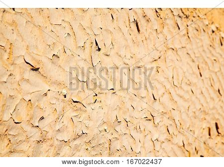 Brown  Sand In Sahara Desert Morocco Erosion And Abstract