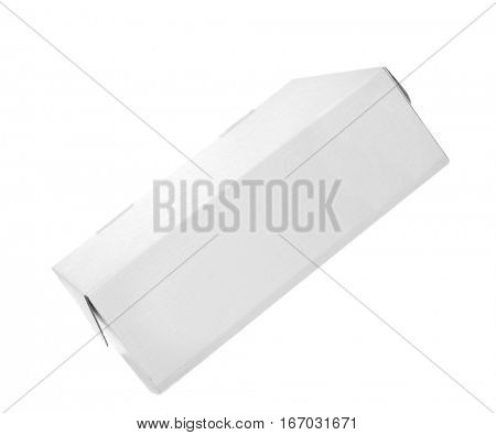 Cartoon box isolated on white