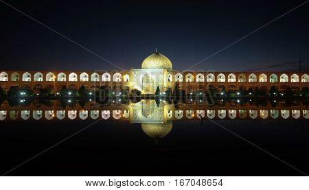 Naqsh-e Jahan Square (Imam Square) .Esfahan Iran