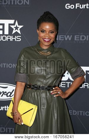 LOS ANGELES - JAN 23:  Kelly Jenrette at the BET's