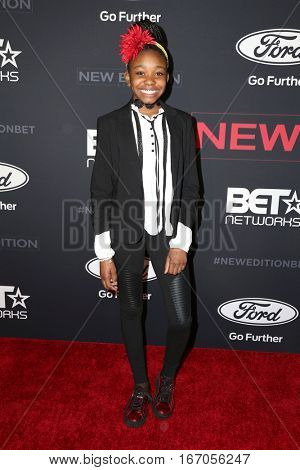 LOS ANGELES - JAN 23:  Journey Carter at the BET's