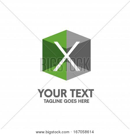 creative letter X logo. Abstract business logo design template. modern Letter X Logo template editable for your business.