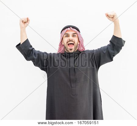 Gulf Arabic man portrait
