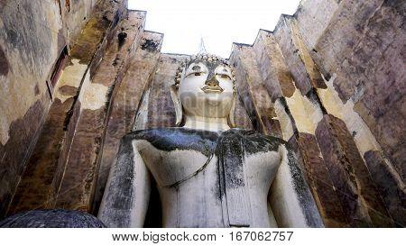 Historical Park Wat Sri Chum Temple Bhudda Architecture