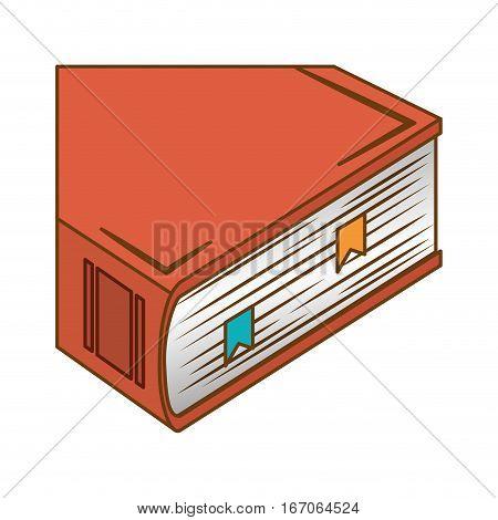 Orage encyclopedia icon image, vector illustration design