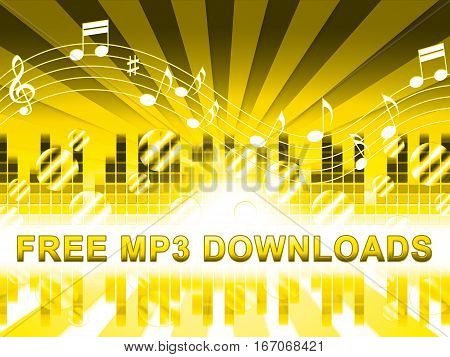 Free Mp3 Downloads Shows No Cost Music