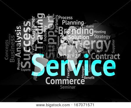 Service Word Meaning Words Support And Assistance