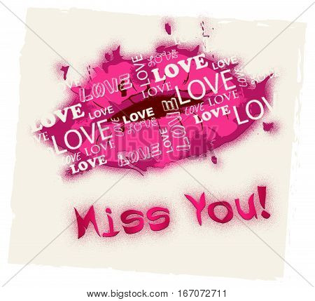 Miss You Means Absense Love And Longing