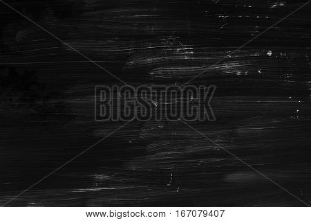 Brush Strokes Pattern, Black Wall Texture