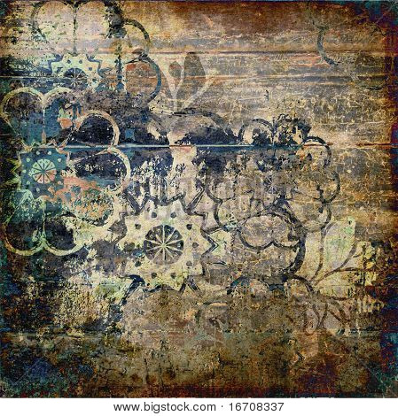 art grunge vintage background