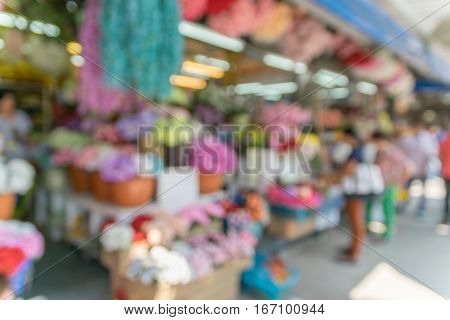 Abstract blurrred flower shop for background. Abstract blurrred flower shop for background.