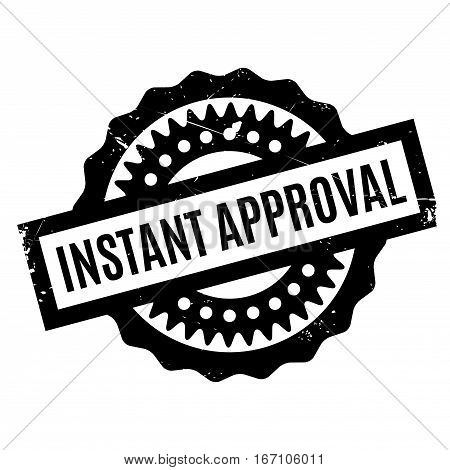 Instant Approval rubber stamp. Grunge design with dust scratches. Effects can be easily removed for a clean, crisp look. Color is easily changed.