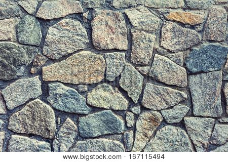 stone or rocks wall texture and background