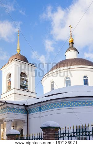 The Temple of the Assumption of the Blessed Virgin in the Moscow region