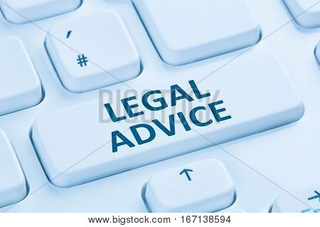 Legal Advice Compliance Consultation Information Info Company Internet Blue Computer Keyboard
