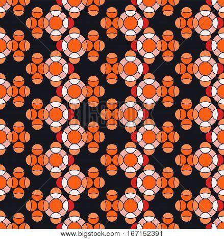 Goldfish pattern, wrapping paper, Animal seamless pattern design, vector illustration.