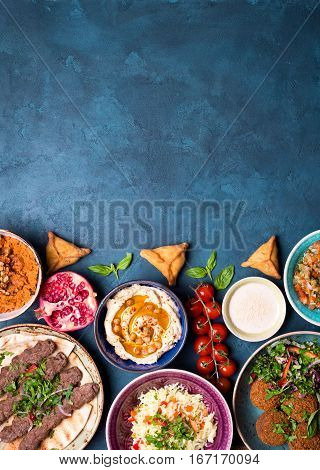 Arabic Dishes Background