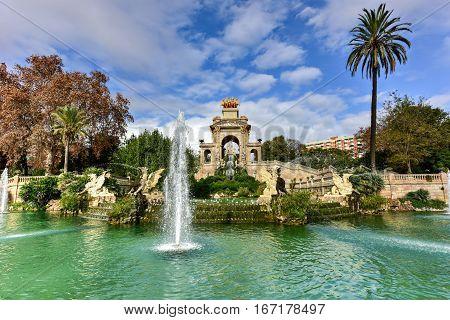 Parc De La Ciutadella - Barcelona, Spain