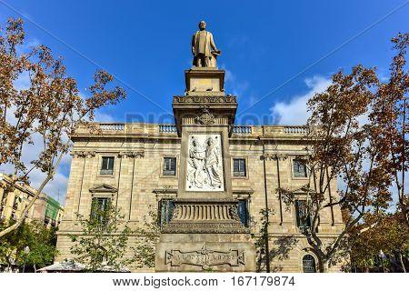 Antoni Lopez I Lopez Monument - Barcelona