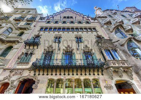 Casa Amatller - Barcelona, Spain