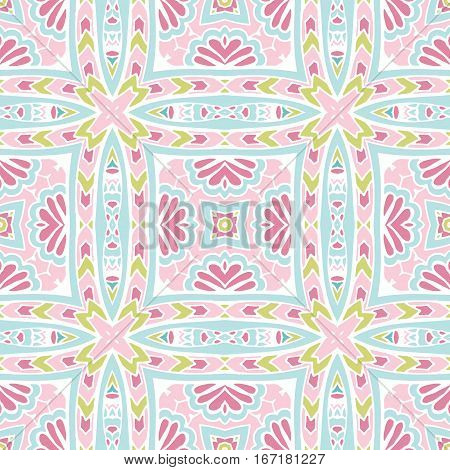 Seamless pattern of geometric shapes.Geometric pastel gamma abstract striped background.