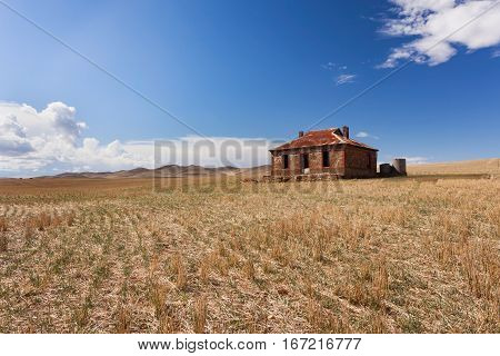 Old homestead in Australian outback - Burra - Flinders Ranges National Park, South Australia, Australia