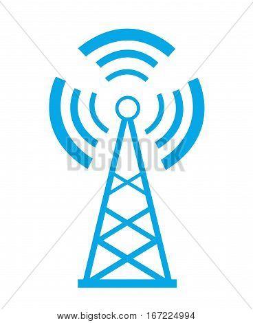 Transmitter icon illustration art on white background