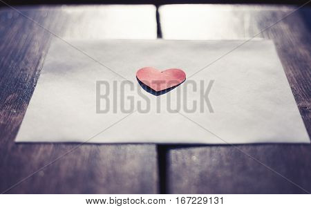 Love Letter For Saint Valentines Day
