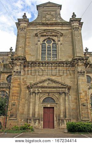 Facade of Notre Dame church, Vitry le Francois