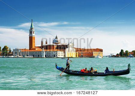 The Venetian Lagoon And The Church Of San Giorgio Maggiore, Italy