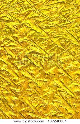 Creative luxury golden texture. Hi res background.